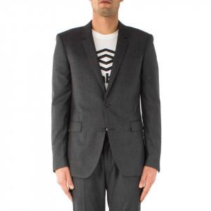 Eleven Paris giacca 2 bottoni grigia