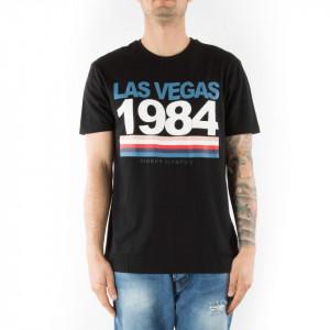 Eleven Paris t-shirt uomo nera las vegas 1984