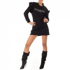 Gaelle abito corto nero casual