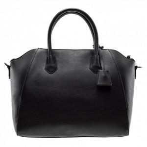 Gaelle borsa bauletto nera con logo