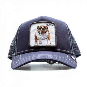 Goorin Bros cappello visiera trucker butch patch bulldog