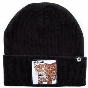 Goorin cappello in lana nero giaguaro