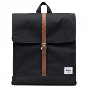 Herschel zaino city mid volume nero