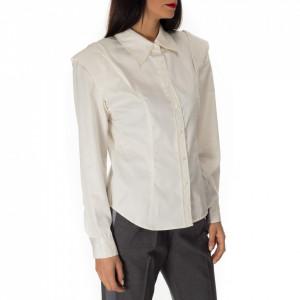 Isabelle Blanche camicia bianca con spalline