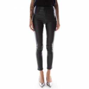 Jijil woman faux leather pants