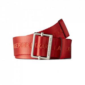 Karl Lagerfeld cintura tessuto rossa
