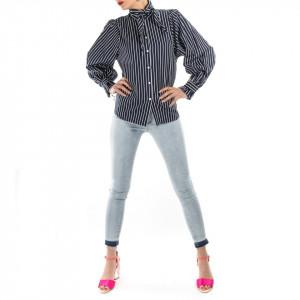 Minimum camicia donna cotone a righe