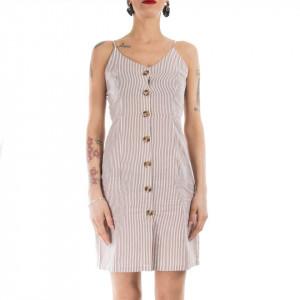 Minimum vestito cotone donna a righe
