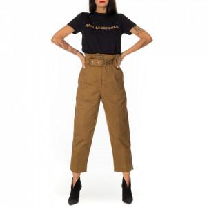 Myths pantalone bustier marrone