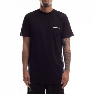 Numero 00 t-shirt nera over uomo