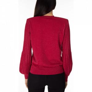 pinko-maglia-lurex-rossa