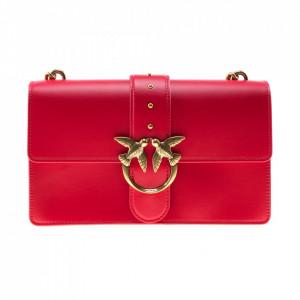 Pinko red shoulder bag