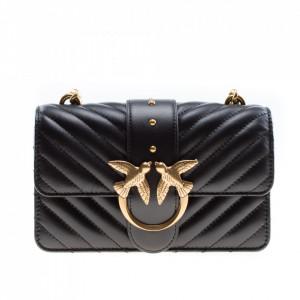 Pinko small black shoulder bag