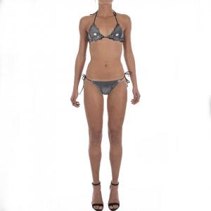 Pyrex bikini donna nero/glitter 18117n
