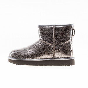 UGG mini classic silver boots