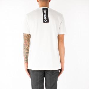 Umbro t-shirt bianca logo 3D