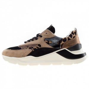 Date Fuga sneakers running leopard