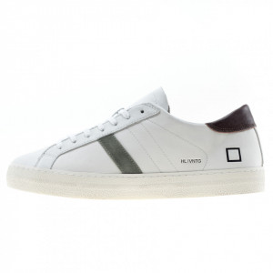 Date sneakers basse bianche uomo hill low
