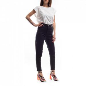 Dr Denim jeans vita alta modello nora nero
