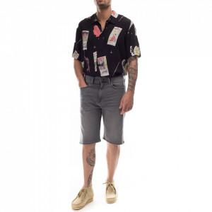 Edwin bermuda jeans nero ED-45
