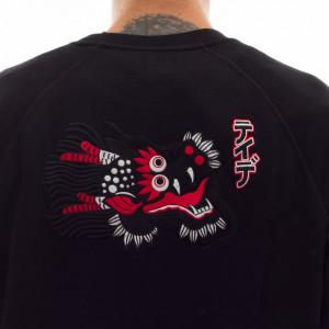 edwin-x-tedie-black-sweatshirt-panther