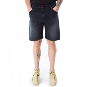 Gaelle bermuda jeans nero