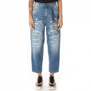 Gaelle-jeans-boyfriend-chiaro-strappato
