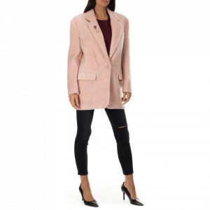 Isabelle Blanche blazer oversize rosa