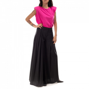 Jijil black palazzo trousers