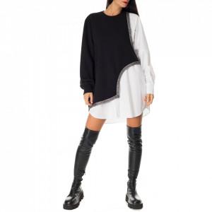 Jijil sweatshirt shirt dress