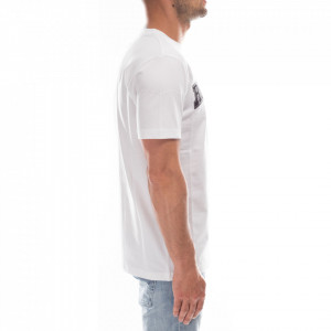 john-richmond-t-shirt-bianca-logo