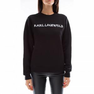 Karl Lagerfeld felpa logo