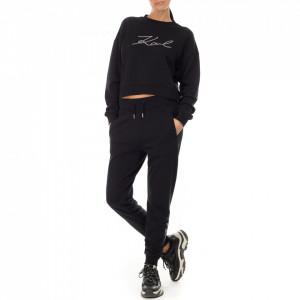 Karl Lagerfeld pantalone tuta nero