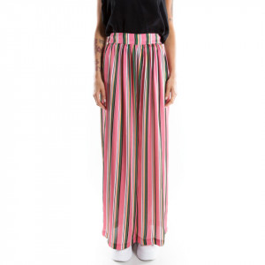 Marc Ellis colored striped trousers