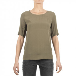 Minimum blusa elvire manica corta