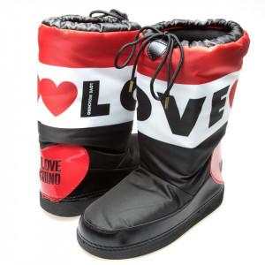 Moschino Love stivali per la neve