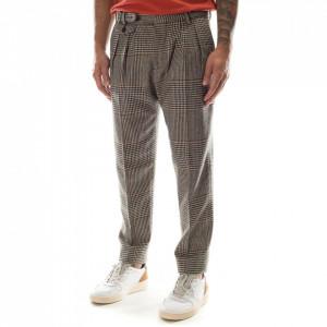 Outfit pantalone uomo check