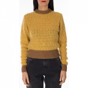 Pinko maglione corto giallo
