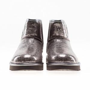 UGG-stivali-mini-argento