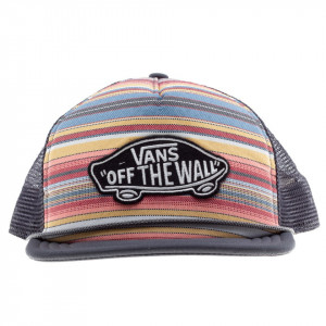 Vans cappello Snapback strisce multicolor