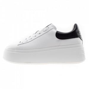 Ash Moby sneakers platform bianco e nero