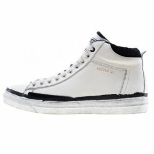 Brimarts sneakers alte uomo bianche