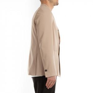 Choice giacca doppiopetto uomo beige