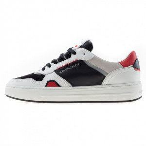 Crime London sneakers uomo off court bianche