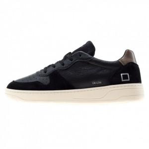 Date scarpe basse uomo Court vintage nere
