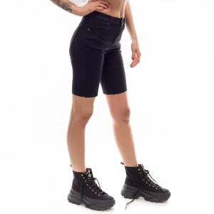 Dr-Denim-short ciclista-jeans-nero