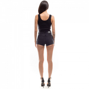 short-in-jeans-nero-donna