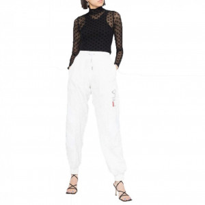 Fila pantalone bianco con pailettes