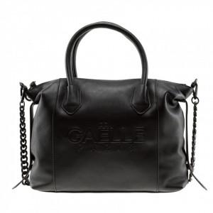 Gaelle borsa tracolla catena nera