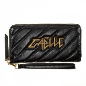 Gaelle portafoglio trapuntato con zip